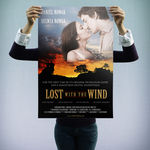 """Plakat Filmowy """"Lost with the Wind"""""""