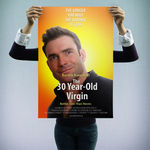 """""""The 30 Year-Old Virgin"""" - personalizowany plakat filmowy"""