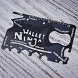 Karta Wallet Ninja - Multitool 18 w 1